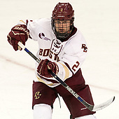 Scott Savage (BC - 2) - The Boston College Eagles defeated the visiting UConn Huskies 2-1 on Tuesday, January 24, 2017, at Kelley Rink in Conte Forum in Chestnut Hill, Massachusetts.