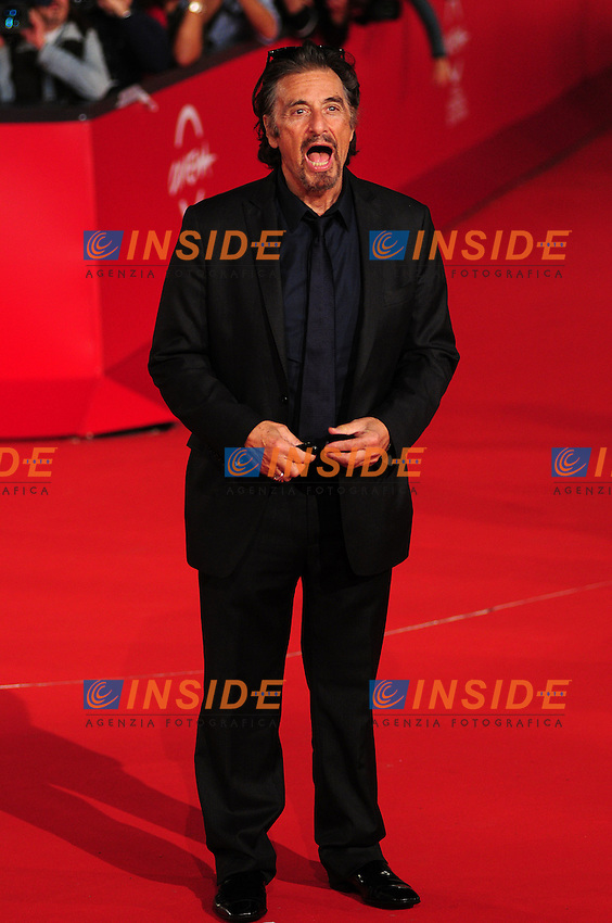 Al Pacino during the red carpet at the opening day of the third edition of Festa Internazionaledel Cinema di Roma, Auditorium Parco della Musica, October 22, 2008. <br /> Photo Luca Cavallari Insidefoto