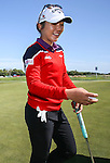 Kiwi World Number One golfer Lydia Ko. Clearwater Golf Course, Wednesday 10 January 2016. Photo: Simon Watts / BWmedia for NZ Golf<br /> All images &copy; NZ Golf and BWMedia.co.nz