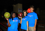 "One Life To Live Shenell Edmonds ""Destiny"", Kelley Missal and Andrew Trischitta at Annual Daytime Stars & Strikes Charity Event to benefit The American Cancer Society on October 7, 2012 at Bowlmor Lanes Times Square, New York City, New York.  (Photo by Sue Coflin/Max Photos)"