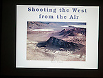 Nolan Preece presents Shooting the West from the Air at Shooting the West XXVII, Winnemucca, Nev.