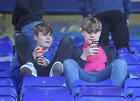 Preston North End's Fans anticipate the kick-off<br /> <br /> Photographer Mick Walker/CameraSport<br /> <br /> The EFL Sky Bet Championship - Birmingham City v Preston North End - Saturday 21st September 2019 - St Andrew's - Birmingham<br /> <br /> World Copyright © 2019 CameraSport. All rights reserved. 43 Linden Ave. Countesthorpe. Leicester. England. LE8 5PG - Tel: +44 (0) 116 277 4147 - admin@camerasport.com - www.camerasport.com