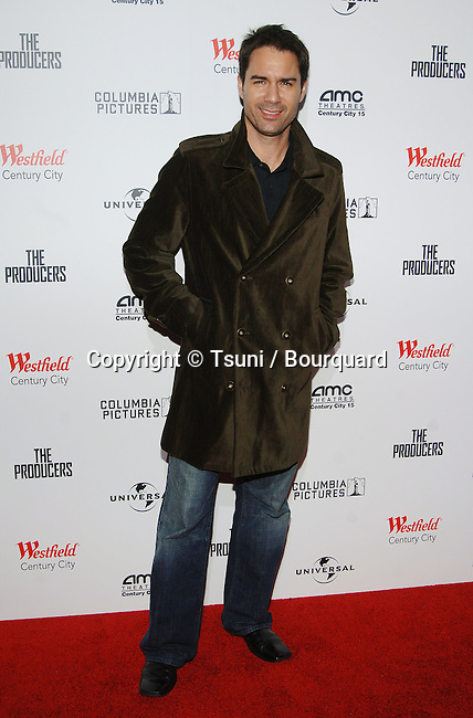 Eric McCormack arriving at THE PRODUCERS Premiere at theWestfield Century City Theatre in Los Angeles. December 12, 2005.