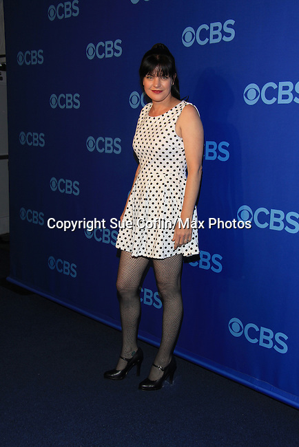 NCIS Pauley Perrette at the CBS Upfront 2013 on May 15, 2013 at Lincoln Center, New York City, New York. (Photo by Sue Coflin/Max Photos)