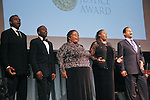 Terry Cook, Robert Mack, Yvonne Hatchett, Jerly Cunningham, and lawrence Craig, perform at the John Jay Justice Award ceremony, April 5 2011.