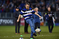 A general view of the half-time kicking competition. Heineken Champions Cup match, between Bath Rugby and Wasps on January 12, 2019 at the Recreation Ground in Bath, England. Photo by: Patrick Khachfe / Onside Images