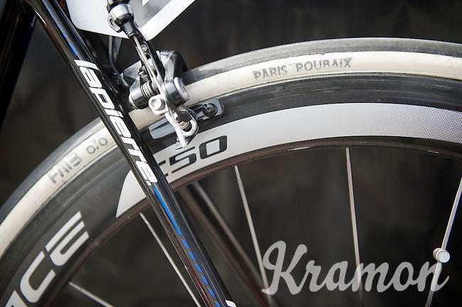 testing Paris-Roubaix tubes today?<br /> <br /> Nokere Koerse 2014