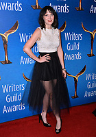 LOS ANGELES, CA. February 17, 2019: Jen Kirkman at the 2019 Writers Guild Awards at the Beverly Hilton Hotel.<br /> Picture: Paul Smith/Featureflash