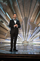 Jimmy Kimmel hosts the live broadcast of The 90th Oscars&reg; at the Dolby&reg; Theatre in Hollywood, CA on Sunday, March 4, 2018.<br /> *Editorial Use Only*<br /> CAP/PLF/AMPAS<br /> Supplied by Capital Pictures