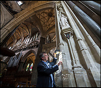 Salisbury Cathedral launches 'Graffiti Tours'.