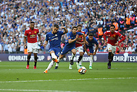 Chelsea's Eden Hazard scores his side's first goal from the penalty spot<br /> <br /> Photographer Rob Newell/CameraSport<br /> <br /> Emirates FA Cup Final - Chelsea v Manchester United - Saturday 19th May 2018 - Wembley Stadium - London<br />  <br /> World Copyright &copy; 2018 CameraSport. All rights reserved. 43 Linden Ave. Countesthorpe. Leicester. England. LE8 5PG - Tel: +44 (0) 116 277 4147 - admin@camerasport.com - www.camerasport.com