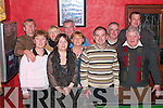 HAPPY NEW YEAR: Celebrating the new year in the Thatch bar, Lisselton, were: Eleanor Crimin, Noreen Kissane, Miche?al Kissane, Ned Bolger, Tommy O'Connor, Ann Kissane, Pat Moloney, Marie Moloney, Dick Kissane and Noel O'Connor.   Copyright Kerry's Eye 2008