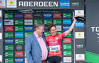 Picture by Allan McKenzie/SWpix.com - 17/05/2018 - Cycling - OVO Energy Tour Series Womens Race - Round 2:Aberdeen - Nicola Juniper takes the Eisberg Sprints award at Aberdeen.