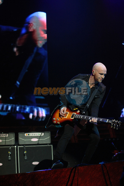 Mark Sheehan from the Script play the O2...(Photo credit should read Jenny Matthews/www.newsfile.ie)....This Picture has been sent you under the conditions enclosed by:.Newsfile Ltd..The Studio,.Millmount Abbey,.Drogheda,.Co Meath..Ireland..Tel: +353(0)41-9871240.Fax: +353(0)41-9871260.GSM: +353(0)86-2500958.email: pictures@newsfile.ie.www.newsfile.ie.