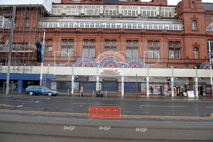 Blackpool Tower frontage,  Promenade, Blackpool Lancashire UK......© Phill Heywood.