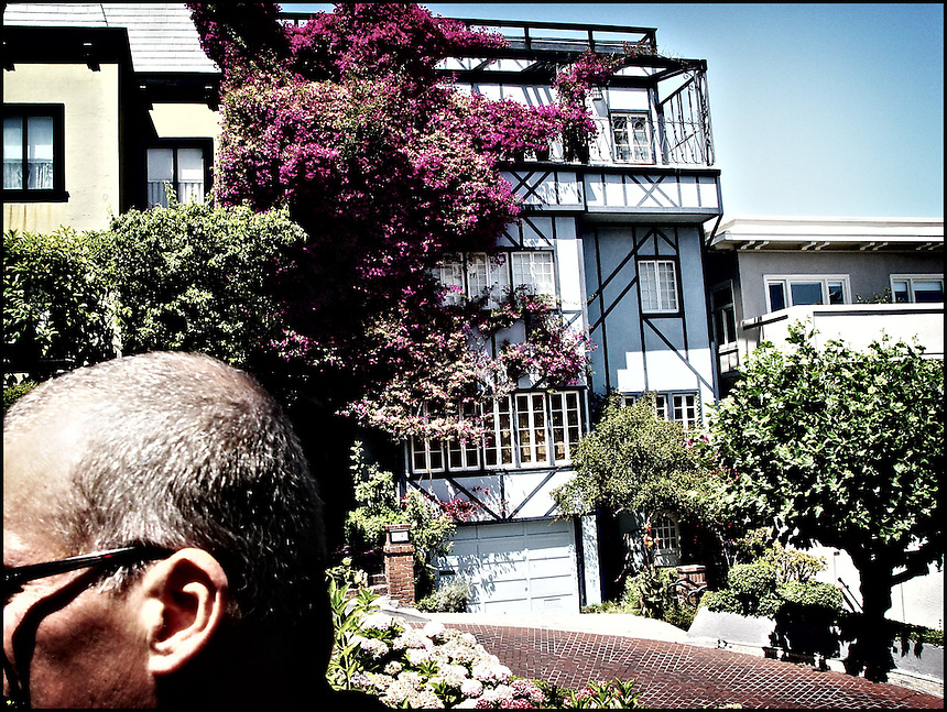 "Lombard Street<br /> From ""Color Blind"" series. San Francisco, 2007"