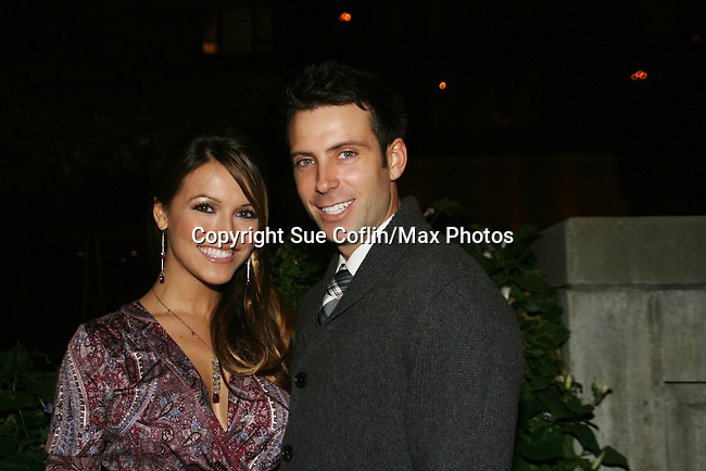 All My Children's Chrishell Stause and boyfriend Graham Bunn at the ABC Daytime Casino Night on October 23, 2008 at Guastavinos, New York CIty, New York. (Photo by Sue Coflin/Max Photos)