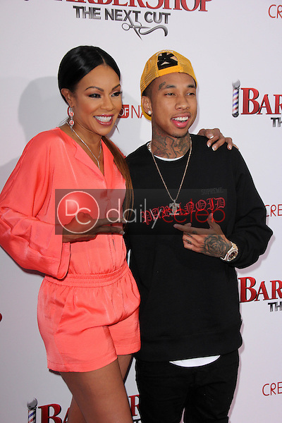 Wendy Raquel Robinson, Tyga<br />