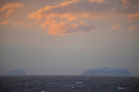 Dusting of Sunset on the Great Southern Ocean