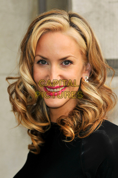 LISA BUTCHER .attending the Women For Women Gala, Banqueting House, London, England, UK, May 5th 2011..portrait headshot smiling blonde dyed hair red lipstick beauty wavy black .CAP/CAS.©Bob Cass/Capital Pictures.