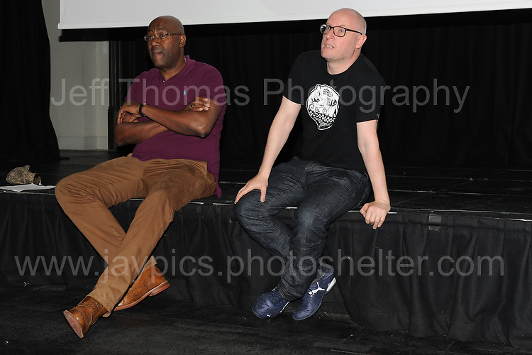 "Film director Cass Pennant at the Red House question and answer session following the showing of his short film ""Bevereley"" during the Merthyr Rising Festival 2016 in Merthyr Tydfil on Saturday June 4th and Sunday June 5th 2016. <br /> <br /> <br /> Jeff Thomas Photography -  www.jaypics.photoshelter.com - <br /> e-mail swansea1001@hotmail.co.uk -<br /> Mob: 07837 386244 -"