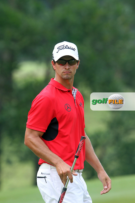 Adam Scott (AUS) on the 13th on Day 3 of the 2012 HSBC Champions, Mission Hills Golf Club, Shenzhen, China. 3/11/12..(Photo www.golffile.ie)