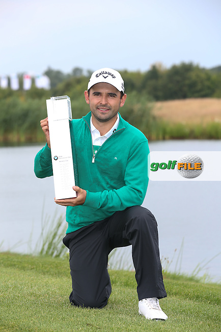 FABRIZIO ZANOTTI (PAR) is the Champion Golfer of the BMW International Open 2014, from Golf Club Gut Lärchenhof, Pulheim, Köln, Germany. Picture:  David Lloyd / www.golffile.ie