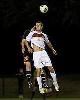 The Winthrop University Eagles lose 2-1 in a Big South contest against the Campbell University Camels.  Sean Comer (4), Bryce Miller (20)