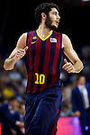 FC Barcelona's Alex Abrines during Liga Endesa ACB 2013-2014 match against Gipuzkoa Basket Club. November 3, 2013. (ALTERPHOTOS/Alex Caparros)