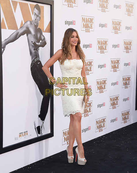 Sofia Vergara attends The Warner Bros. Pictures' L.A. Premiere of Magic Mike XXL held at The TCL Chinese Theatre  in Hollywood, California on June 25,2015  <br /> CAP/DVS<br /> &copy;DVS/Capital Pictures