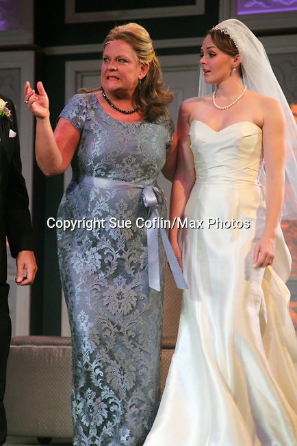 """Guiding Light's Kim Zimmer stars with Kayleen Seidl in """"It Shoulda Been You"""" - a new musical comedy - at the Gretna Theatre, Mt. Gretna, PA on July 30, 2016. (Photo by Sue Coflin/Max Photos)"""