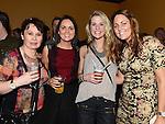 Siobhan Moore, Derorah Campbell, Tara Lynch and Jane Moonan at the White Collar Boxing at the O'Raghallaigh's. Photo:Colin Bell/pressphotos.ie
