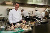 Europe/France/73/Savoie/Val d'Isère:  Alexandre Fabris, restaurant : Le Grain de Sel à l'Hôtel: Le Savoie