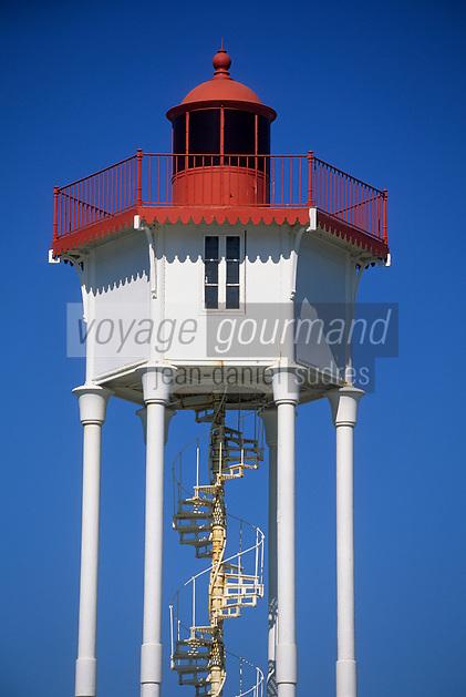 Europe/France/Languedoc-Roussillon/66/Pyrénées -Orientales/Banyuls-sur-Mer : le phare sur pilotis