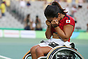 Yui Kamiji (JPN), <br /> SEPTEMBER 14, 2016 - Wheelchair Tennis : <br /> Women's Singles Bronze medal match<br /> at Olympic Tennis Centre<br /> during the Rio 2016 Paralympic Games in Rio de Janeiro, Brazil.<br /> (Photo by Shingo Ito/AFLO)