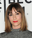 Gia Coppola arriving at the Los Angeles Premiere of Palo Alto, held at Directors Guild of America May 5, 2014.
