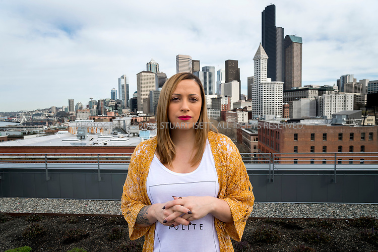 3/31/2014&mdash;Seattle, WA, USA<br /> <br /> Julie Ann Horvath, 25, posing at her apartment building in Seattle, WASH. Horvath works from her apartment as a designer and front-end developer at&nbsp;&ldquo;&amp;yet&rdquo;&nbsp;based in Richland, WA.&nbsp;<br /> <br /> <br /> Photograph by Stuart Isett<br /> &copy;2014 Stuart Isett. All rights reserved.