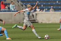 Bridgeview, IL - Saturday May 27, 2017: Kristen Hamilton during a regular season National Women's Soccer League (NWSL) match between the Chicago Red Stars and the North Carolina Courage at Toyota Park. The Red Stars won 3-2.