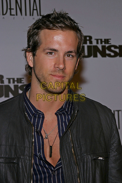 "RYAN REYNOLDS.At the US premiere of ""After the Sunset"" held at Grauman's Chinese Theatre,  Hollywood, California, USA, .4th November 2004  .portrait headshot.**UK SALES ONLY**.Ref: ADM.www.capitalpictures.com.sales@capitalpictures.com.©Capital Pictures."