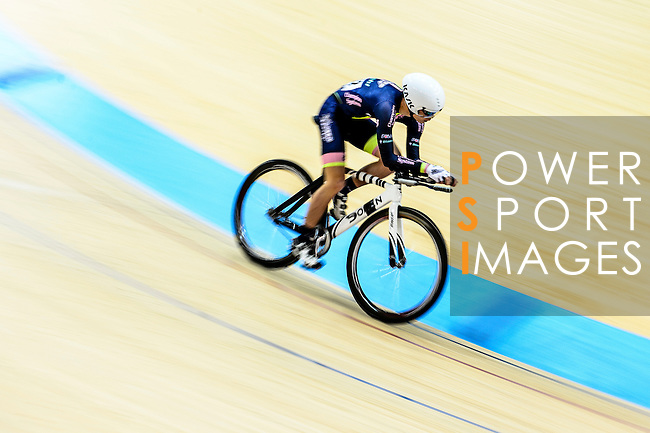 Chan Choi Tak Seth of team X SPEED during the Indiviual Pursuit Open Qualifying (4KM) Track Cycling Race 2016-17 Series 3 at the Hong Kong Velodrome on February 4, 2017 in Hong Kong, China. Photo by Marcio Rodrigo Machado / Power Sport Images