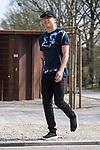10.04.2018, Weserstadion, Bremen, GER, 1.FBL, Training SV Werder Bremen<br /> <br /> im Bild<br /> Yuning Zhang (Werder Bremen #19), <br /> <br /> Foto &copy; nordphoto / Ewert