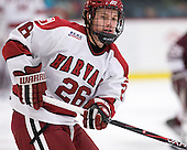 Luke Greiner (Harvard - 26) - The Harvard University Crimson defeated the visiting Colgate University Raiders 4-2 on Saturday, November 12, 2011, at Bright Hockey Center in Cambridge, Massachusetts.