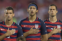 Tampa, FL - July 12, 2017: Omar Gonzalez The USMNT (USA) defeated Martinique (MAR) 3-2 in a 2017 Gold Cup group stage match at Raymond James Stadium.