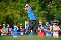 Hideki Matsuyama (JPN) watches his tee shot on 12 during 1st round of the 100th PGA Championship at Bellerive Country Club, St. Louis, Missouri. 8/9/2018.<br /> Picture: Golffile | Ken Murray<br /> <br /> All photo usage must carry mandatory copyright credit (© Golffile | Ken Murray)