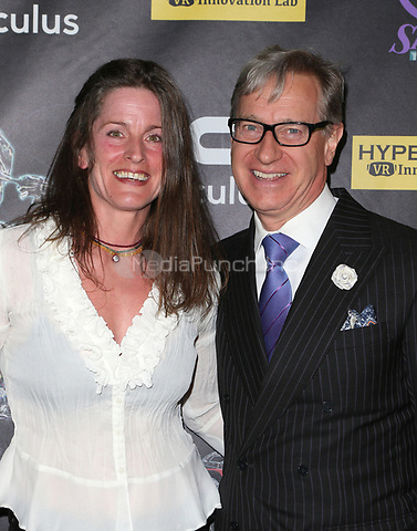 BEVERLY HILLS, CA - April 20: Melanie Wise, Paul Feig, At Artemis Women in Action Film Festival - Opening Night Gala At The Ahrya Fine Arts Theatre In California on April 20, 2017. Credit: FS/MediaPunch