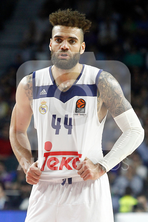 Real Madrid's Jeffery Taylor during Euroleague, Regular Season, Round 29 match. March 31, 2017. (ALTERPHOTOS/Acero)