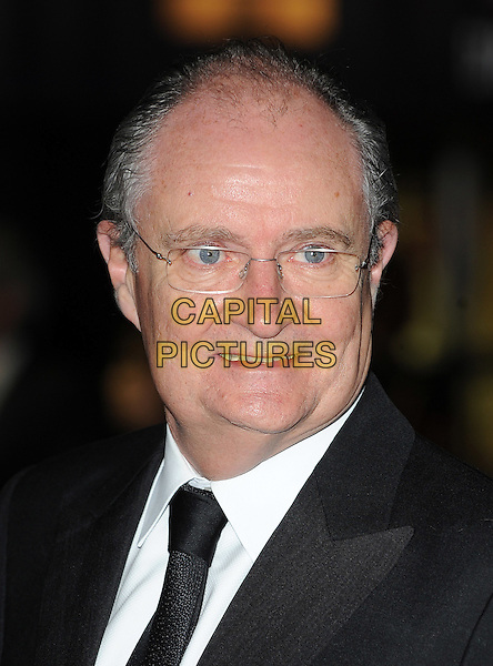 "JIM BROADBENT .attending The 54th BFI London Film Festival Opening Night Gala & European Premiere of ""Never Let Me Go"" Odeon Leicester Square, London, England, UK,.13th October 2010..portrait headshot  black tie white shirt glasses .CAP/BEL.©Tom Belcher/Capital Pictures."