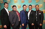 Joe Barbara, Michael Barra, Joey Sorge, Ted Brunetti and Charlie Marcus attends the Broadway Opening Night After Party for 'A Bronx Tale' at The Marriot Marquis Hotel on December 1, 2016 in New York City.