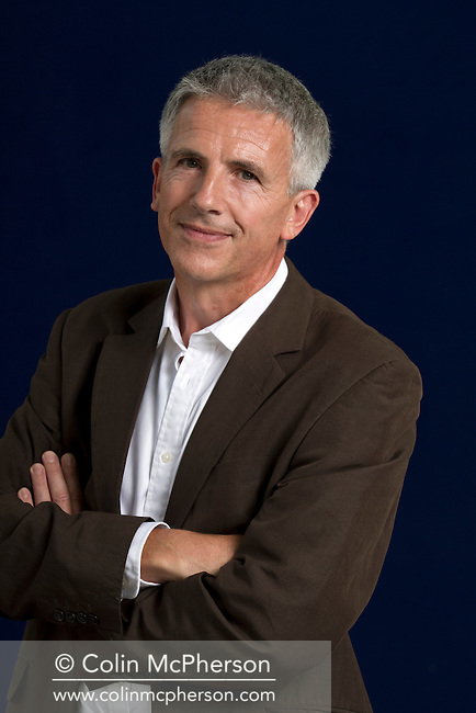 Acclaimed British author Patrick Gale, pictured at the Edinburgh International Book Festival where he talked about his latest novel. The three-week event is the world's biggest literary festival and is held during the annual Edinburgh Festival. The 2012 event featured talks and presentations by more than 500 authors from around the world.
