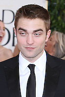 BEVERLY HILLS, CA - JANUARY 13: Robert Pattinson at the 70th Annual Golden Globe Awards at the Beverly Hills Hilton Hotel in Beverly Hills, California. January 13, 2013. Credit MediaPunch Inc. /NortePhoto